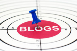 blog at center of target